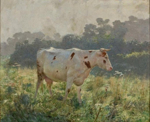 Emile Claus Vaches cow