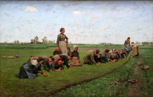 KMSKA - Vlaswieden in Vlaanderen - Emile Claus (1887)