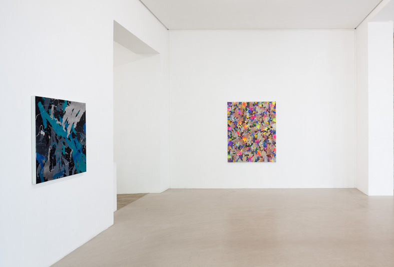 Installation View 1  both works by Yorgos Stamkopoulos