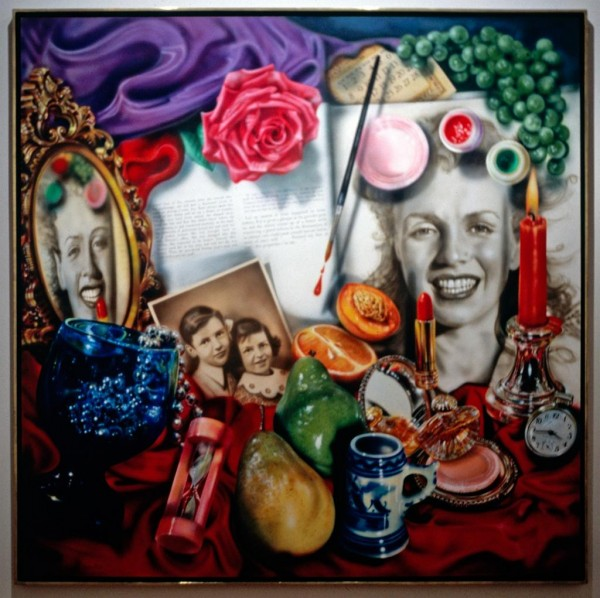 "wheel of fortune audrey flack Audrey flack, ""marilyn: elegy"" (1980) cibachrome 17 × 16 3/4  audrey flack, "" wheel of fortune (vanitas)"" (1977-1978) oil over acrylic on."