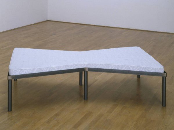 Bed 1976,1997 by Michelangelo Pistoletto born 1933
